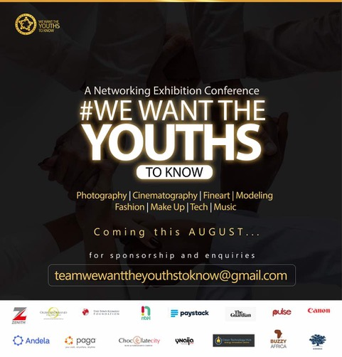We Want the Youths to Know – 2018
