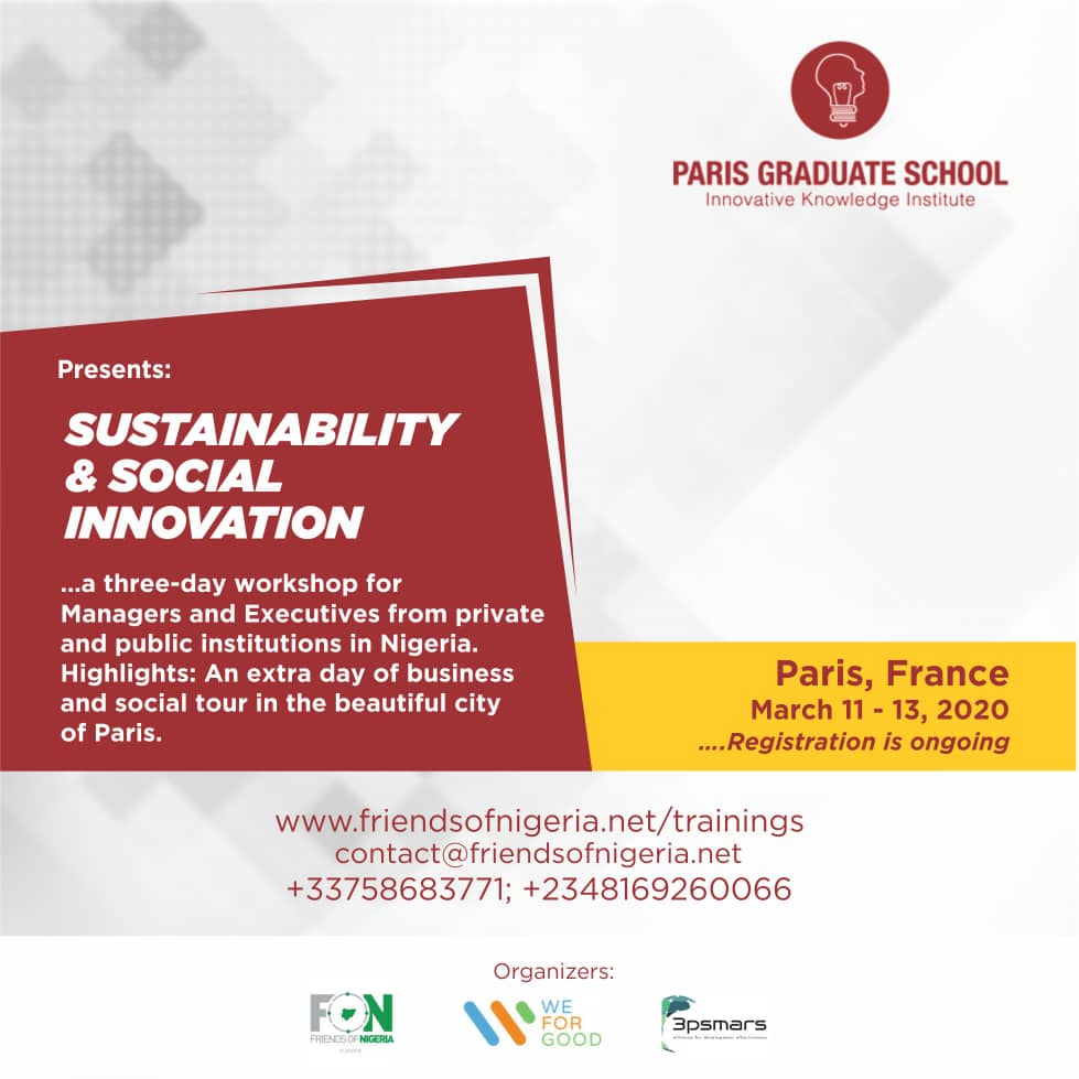 Sustainability and Social Innovation